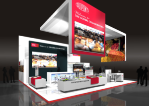 Gix Dupont stand design