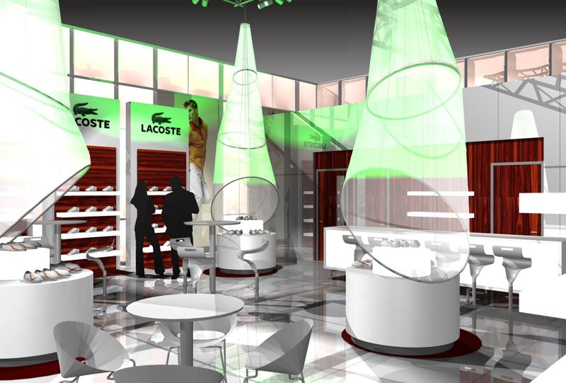 Gix Lacoste exhibition design standdesign