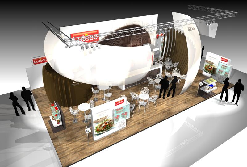 Lutèce Gix Stand design standbouw exhibitions