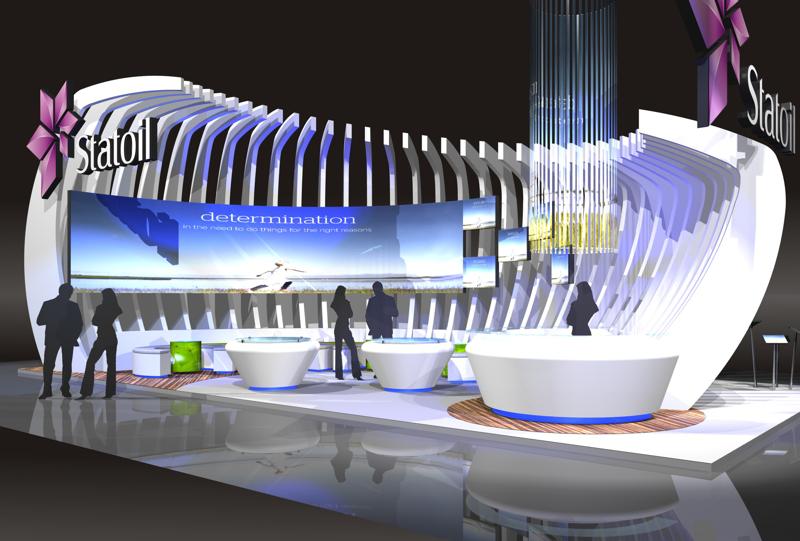 Gix Statoil exhibition design standdesign messebau