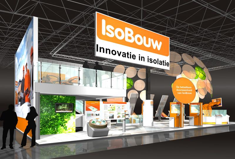 Gix IsoBouw exhibition design standdesign messebau