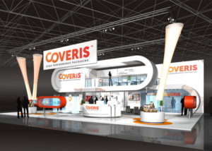 Gix Coveris exhibition design standdesign messebau