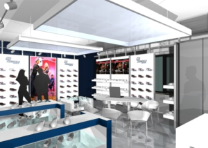 Gix Skechers interior design store