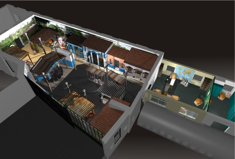 Gix wereldpaviljoen ontwerp interior design