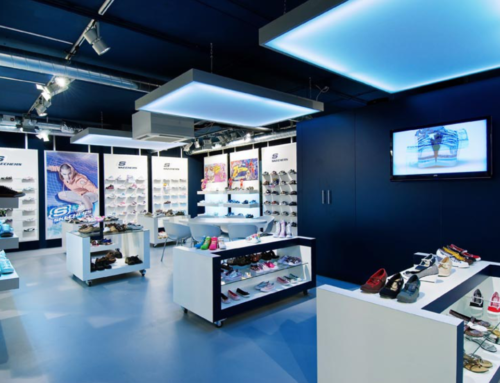 Skechers showroom